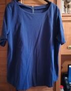 F&F fioletowa dzianinowa bluzeczka dla puszystej 48 50