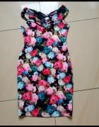 Sukienka w kwiaty 12 40