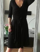 Monnari czarna sukienka wiskoza M...