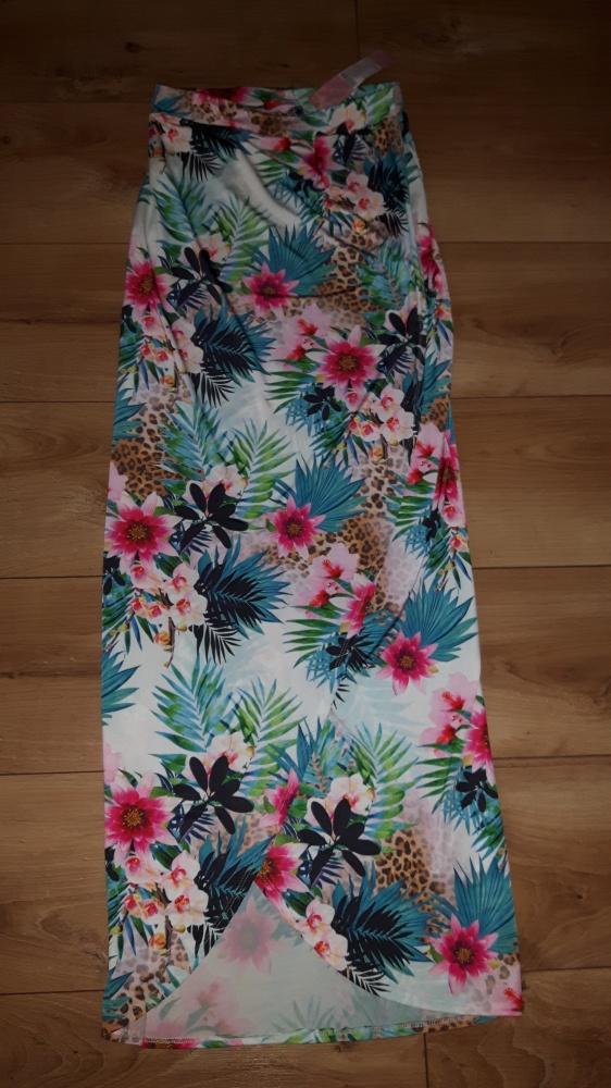 Przepiękna spódnica maxi Lipsy London 34...