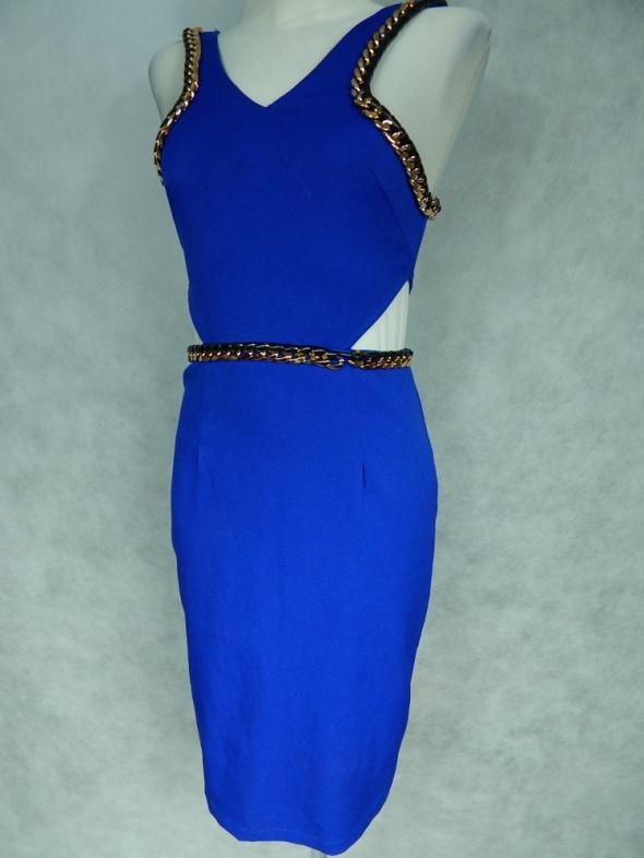 Suknie i sukienki Missguided Seksowna sukienka ŁAŃCUSZEK 34 XS
