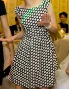 Cudna sukienka rozkloszowana 36 S