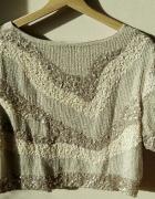 H&M bogato zdobiona bluzka...