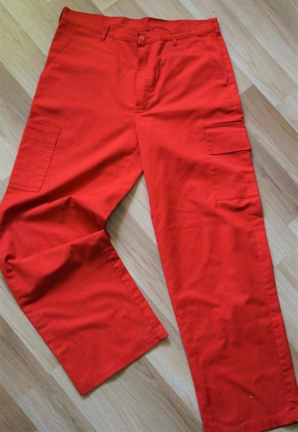 Spodnie czerwone bojówki damskie rozmiar 43 XL