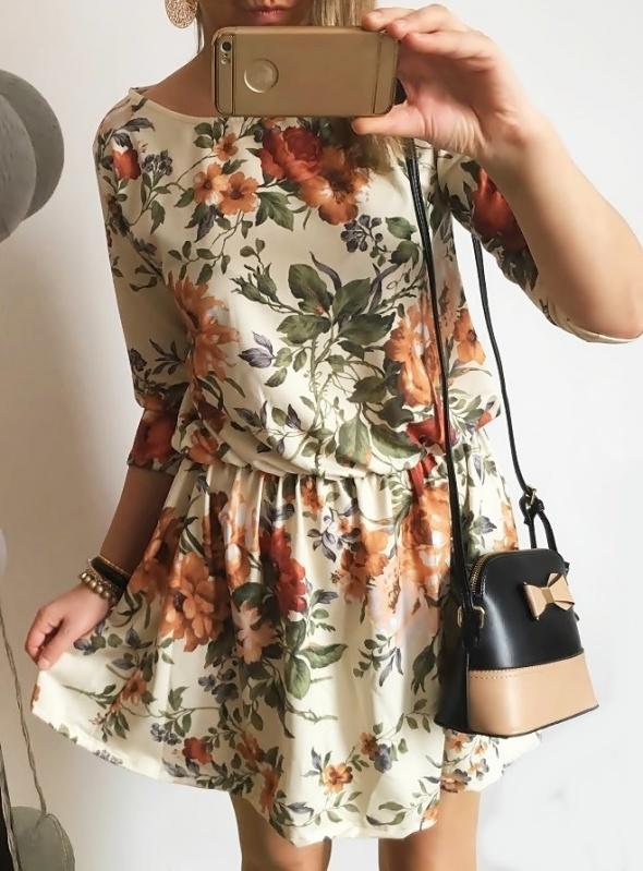 6450e7f9 Prześliczna sukienka Damska w kwiatuszki M w Suknie i sukienki ...