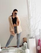 Włochaty sweter Lindex...