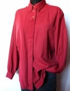 Czerwona elegancka koszula r L