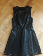 Skórzana sukienka Forever 21...
