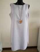 Zgrabna sukienka bez rękawów 44 46