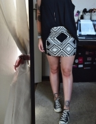 Nowa spódnica obcisła mini tuba L 40...