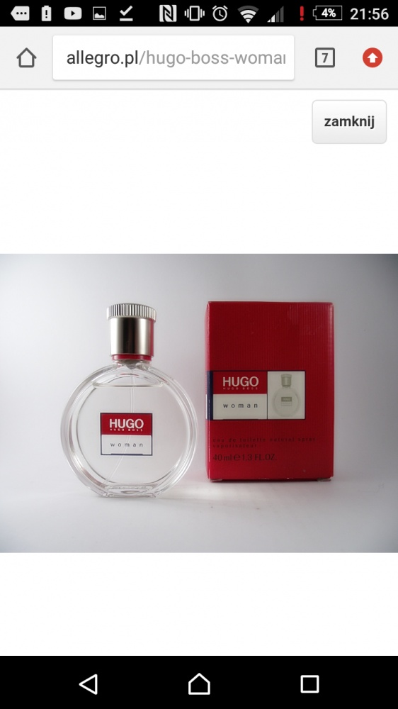 Hugo boss woman red edt...
