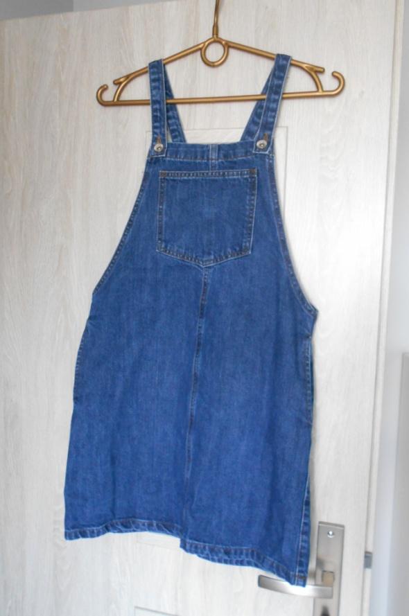9cc5b111 New Look sukienka jeansowa ogrodniczka jeans w Suknie i sukienki ...