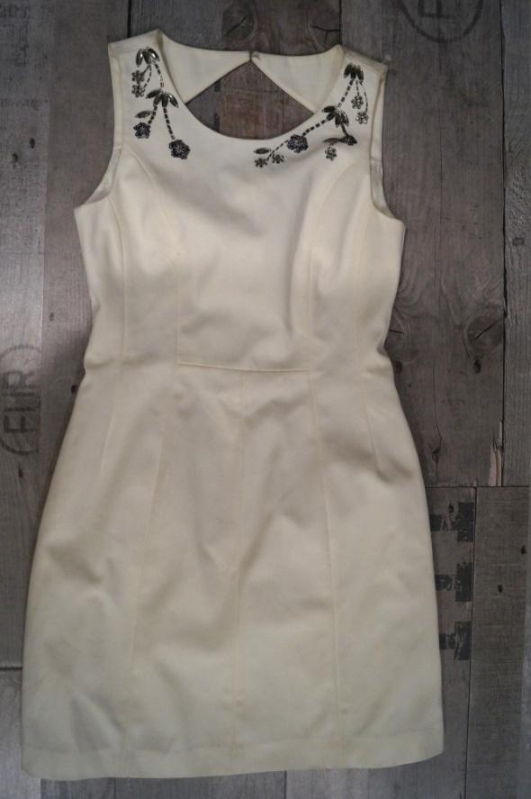 a4f3d0bb6a NOWA nude odkryte plecy zara HM kamienie sukienka w Suknie i ...