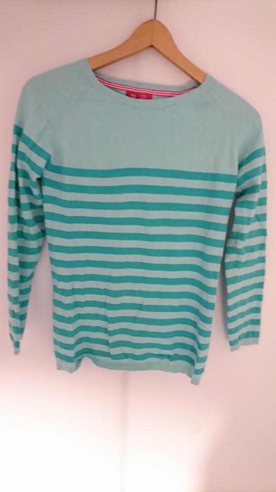 Pozostałe Niebieski sweterek w paski