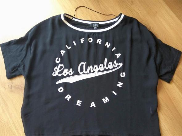 Czarna koszulka Los angeles...