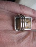 srebrny komplet bizuterii
