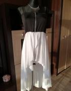 Asymetryczna Sukienka Zip