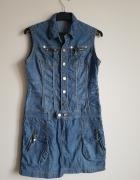 Sukienka jeansowa r 38 40