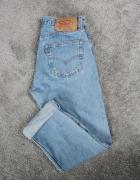 Spodnie jeansy Mom wysoki stan Boyfriendy...