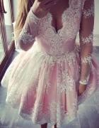 sexy sukienka koronkowa koronka wesele hit 36 38 40 42