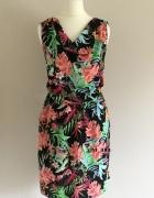 NOWA sukienka MOODO w kwiaty XS S