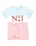 PLNY LALA koszulka NO1 Pastel Classic Tee