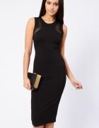 ASOS Sukienka Midi mała Czarna 34 XS