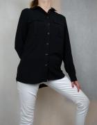 Czarna klasyczna oversizowa koszula Next...