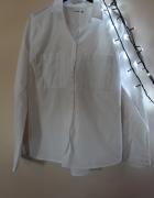 Biała koszula klasyczna rozmiar M