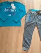 Nowe dresy chłopięce bluzka z długim rękawem spodn