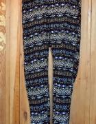 Spodnie haremki alladynki wzór