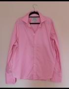 Next różowa koszula męska spinki XL 17...