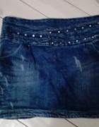 Spódnica Jeansowa Dżety