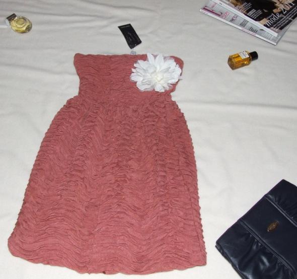 nowa z metką sukienka ZARA gorsetowa rozkloszowana