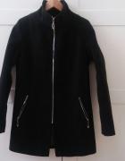 NOWY płaszcz wełna z kaszmirem 38