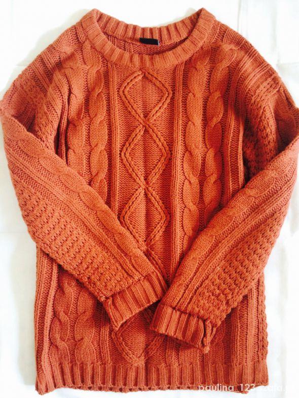 Ceglasty sweter Cubus XSS