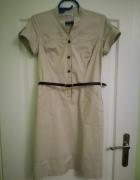 Nowa sukienka szmizjerka 38 M lato karmienia piersią...