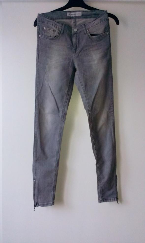NOWE spodnie szare CUBUS W26 36S...