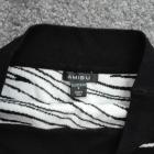 Krótka spódnica Amisu r S stan idealny białoczarna