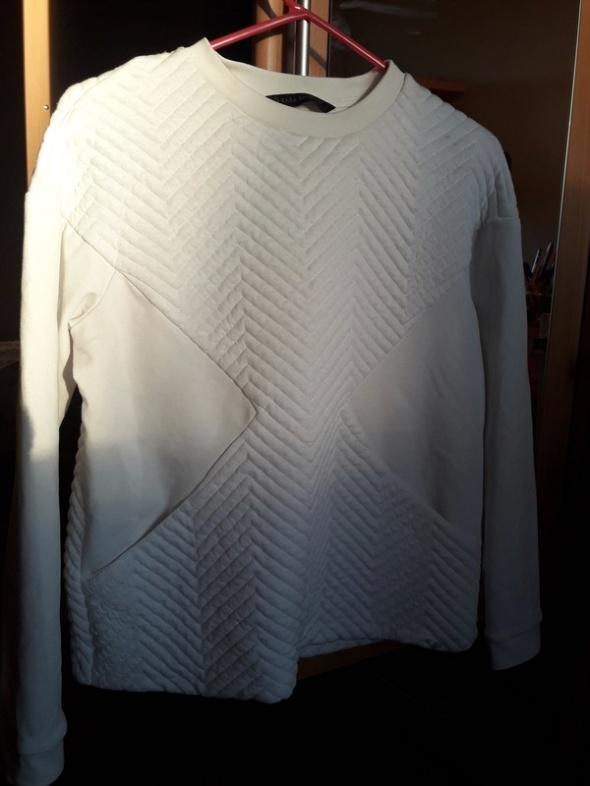 Bluza Biała z kieszeniami XS