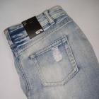 Spodnica jeans marmurek dziury New yorker nowa