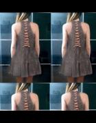 Sukienka sznurowana NOWA L