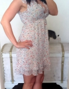 Zwiewna sukienka Apricot m 38