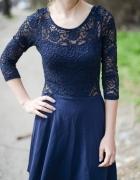Koronkowa sukienka H&M S