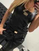 Eko skórka czarna Paparazzi Fashion