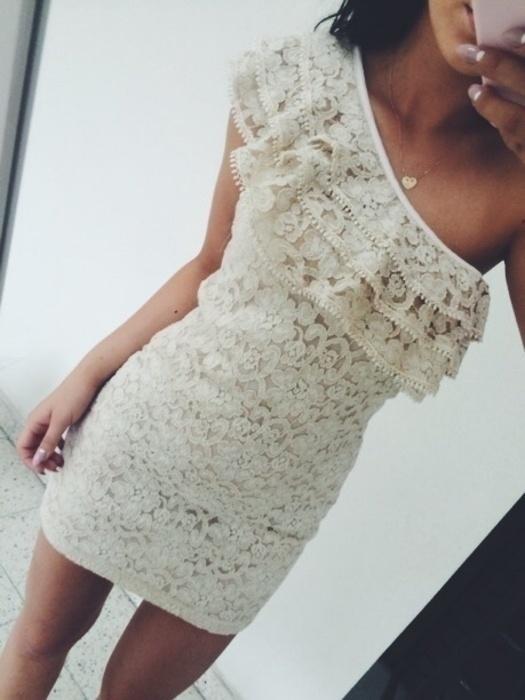 sukienka bezowa hiszpanka s