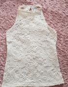Biała bluzka na lato