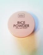 NOWY puder ryżowy Wibo rice powder matujący sypki transparentny