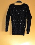 Futrzany sweter serduszka