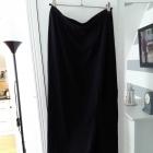 nowa DIVERSE maxi dress czarna dresowa zara